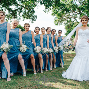 Neat Bridesmaids Poses