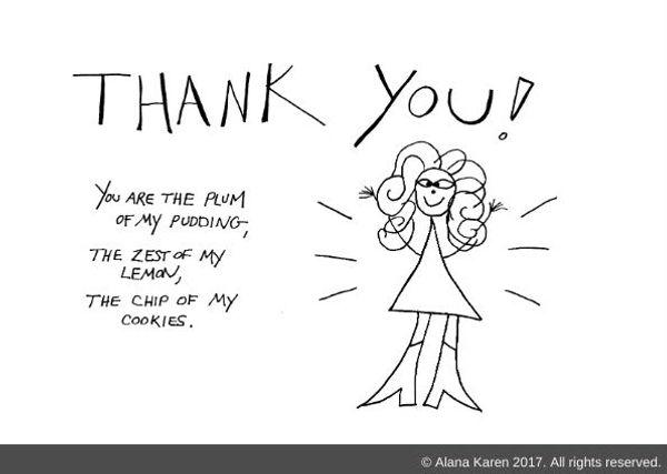 Crazyhair says thank you
