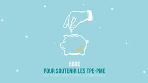 CHEQUE FRANCE NUM - 500 EUROS POUR SOUTENIR LES TPE-PME QUI INVESTISSENT DANS LE NUMERIQUE