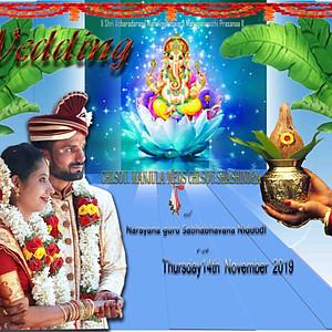 Manjula weds Shashindra