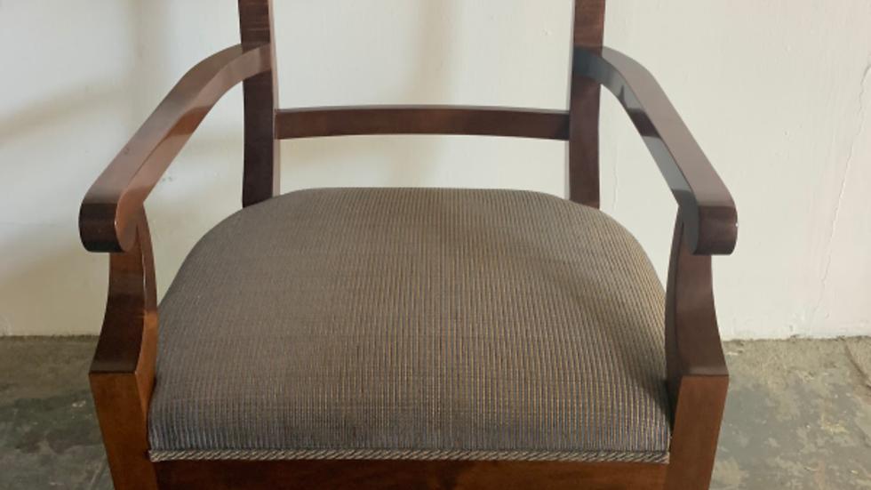 Vienna Woods Design Biedermeier style armchair.