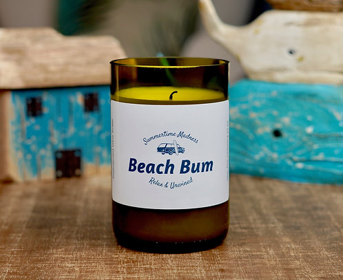 Beach Bum- Soy Wax Candle