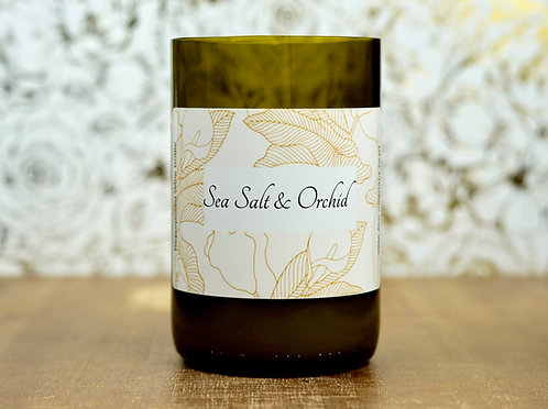 Sea Salt & Orchid- Soy Wax Candle
