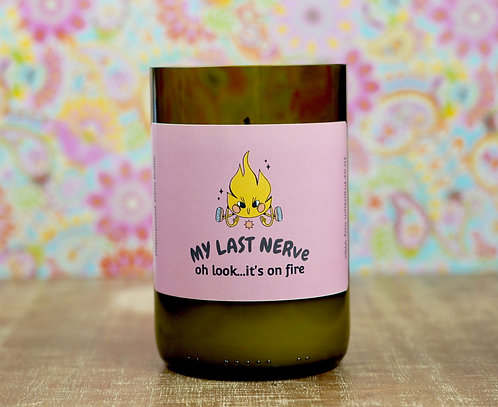 My Last Nerve-Soy Wax Candle