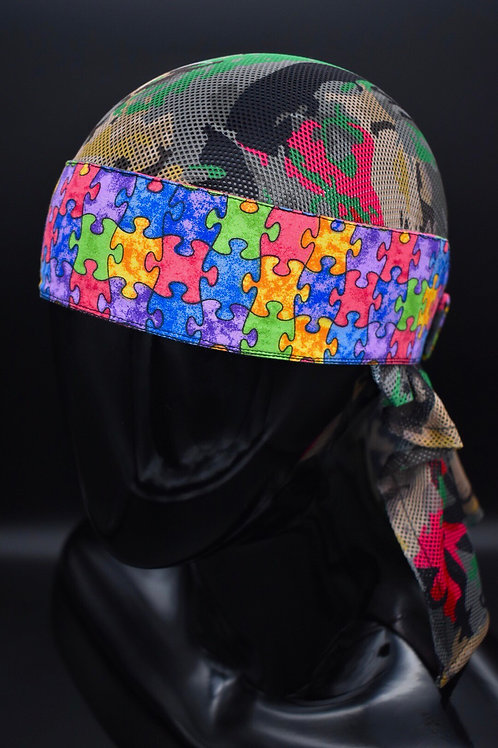 Prototype - Puzzle Double Stacked Headwrap