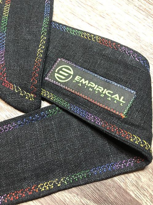 Empirical Paintball - Black & Typhon Camouflage Headband - Blue Stitching Main