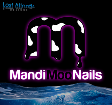 LAD Custom Logo - Mandi Moo Nails