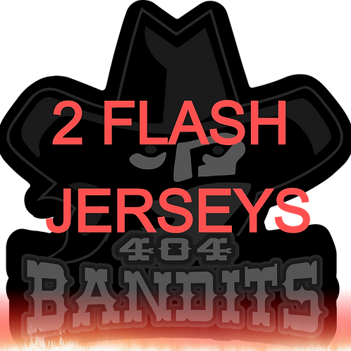 404 Bandits - Double Flash Jersey Package