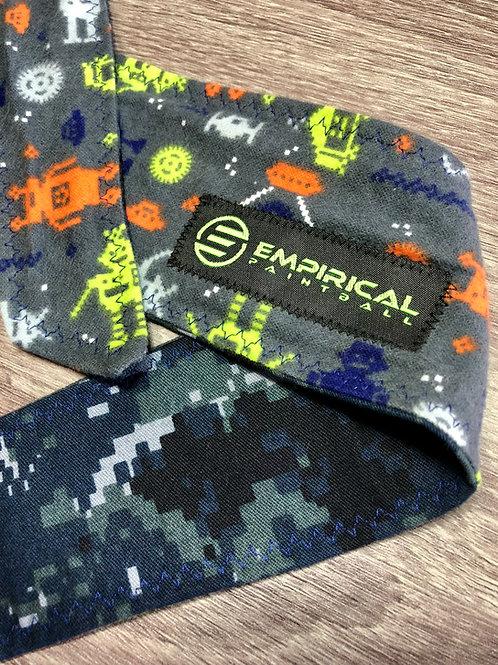 Empirical Paintball - Double Sided Headband - Dark Zig Zag Front