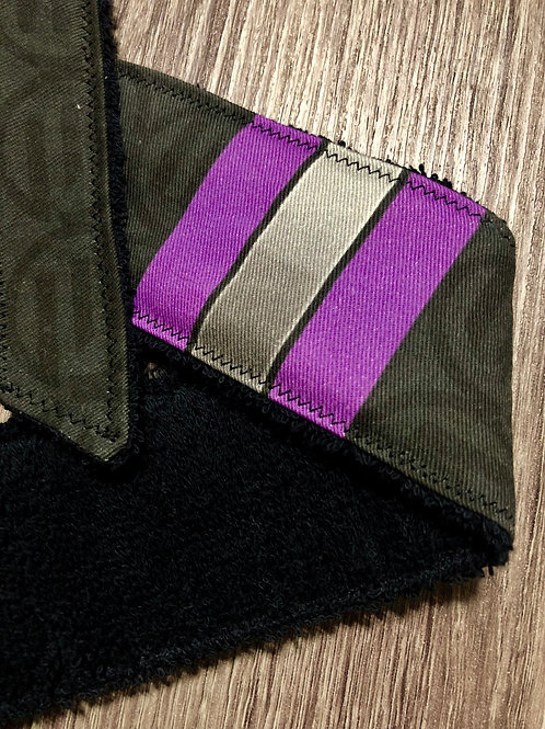 3 Stripe Academy - Purple - Legend Headband