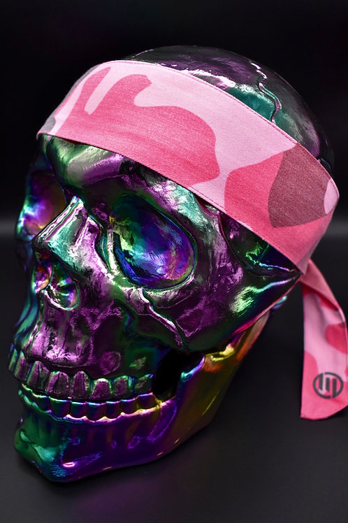 Pink Camo - Headband