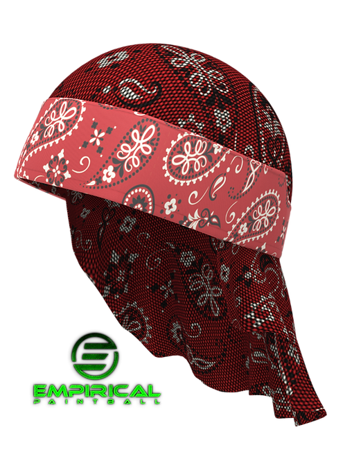 Red Bandanna  - Headwrap