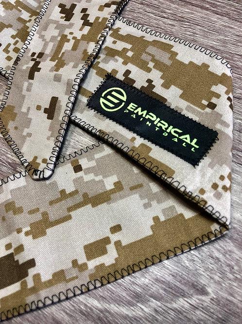 Empirical Paintball - Desert Digi Headband w/ Patch - Extra Wide Main