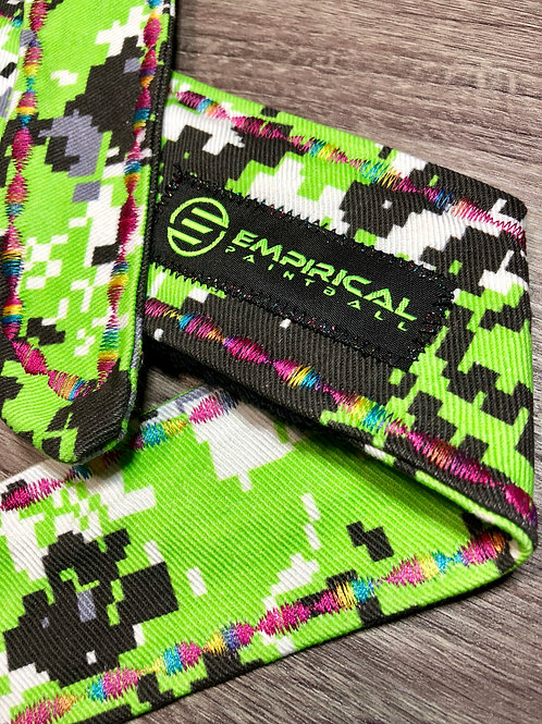 Empirical Paintball - Zombie Green Digital Camo Headband - 🍭 Candy Stitching - Main