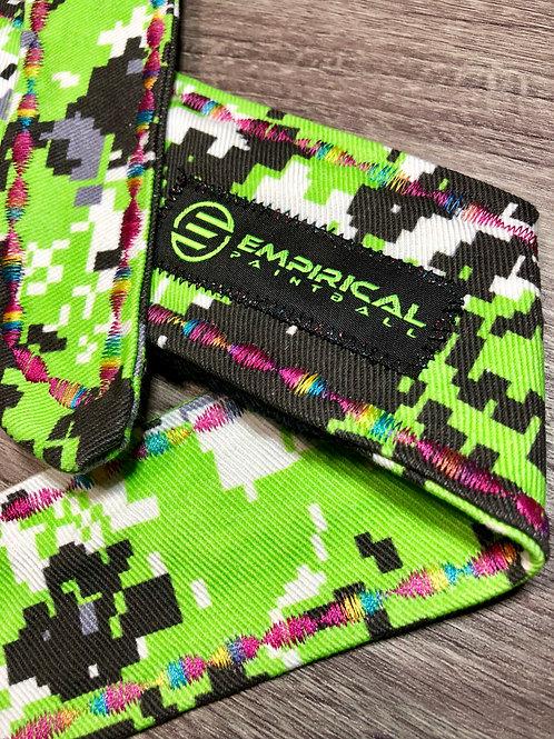 Empirical Paintball - Zombie Green Digital Camo Headband - 🍭 Candy Stitching - Main