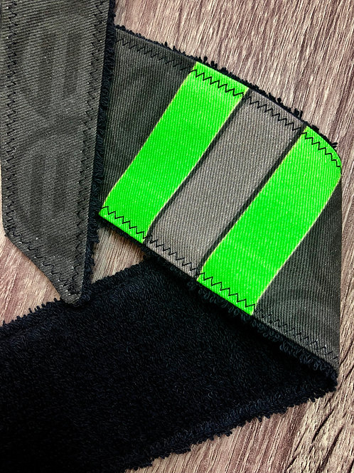 3 Stripe Academy - Green - Legend Headband