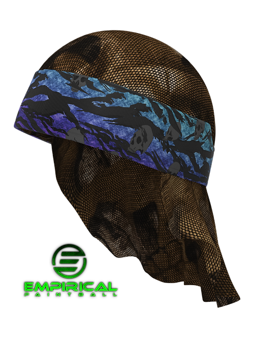 Paintball Headwrap - Nebula Fade Forsaken - Empirical Paintball