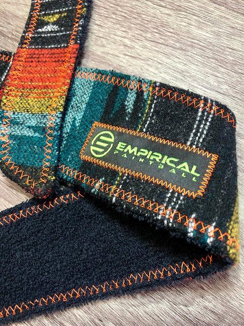 Orange Aztec Sweater Legend Headband - 🍊 Electric Orange Stitching
