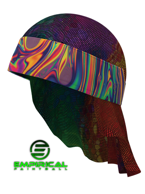 Paintball Headwrap - Aurora Oil - Empirical Paintball