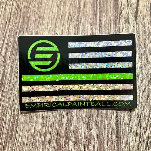 EP Flag Sticker - Glitter HOLO