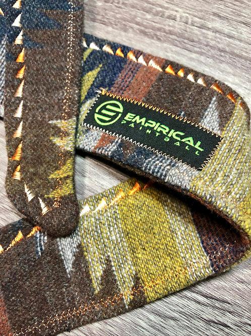 Empirical Paintball - Aztec Rust Sweater Headband - Creamsicle  Stitching - Main