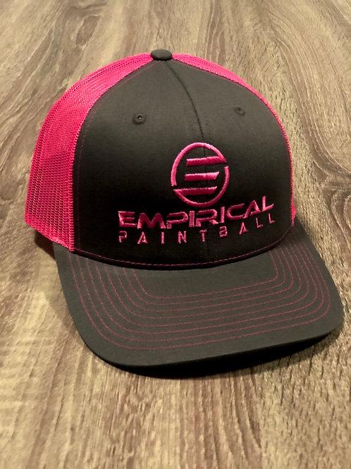 Pink & Gray Richardson Snapback