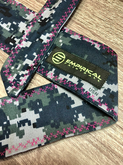 Empirical Paintball - Digi Camo Headband - Pink Stitching Main