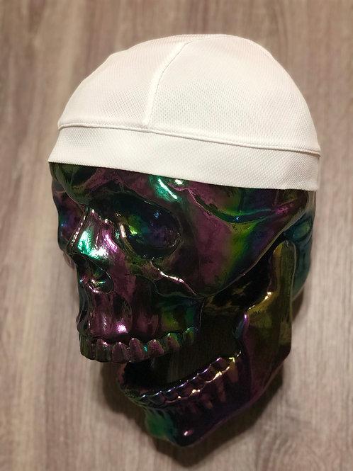💀 Skull Cap - White