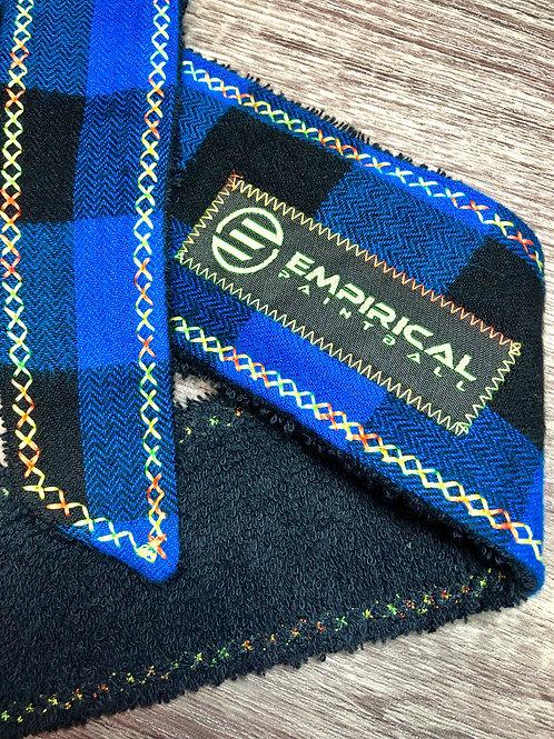 Blue Plaid Headband - Citrus Stitching