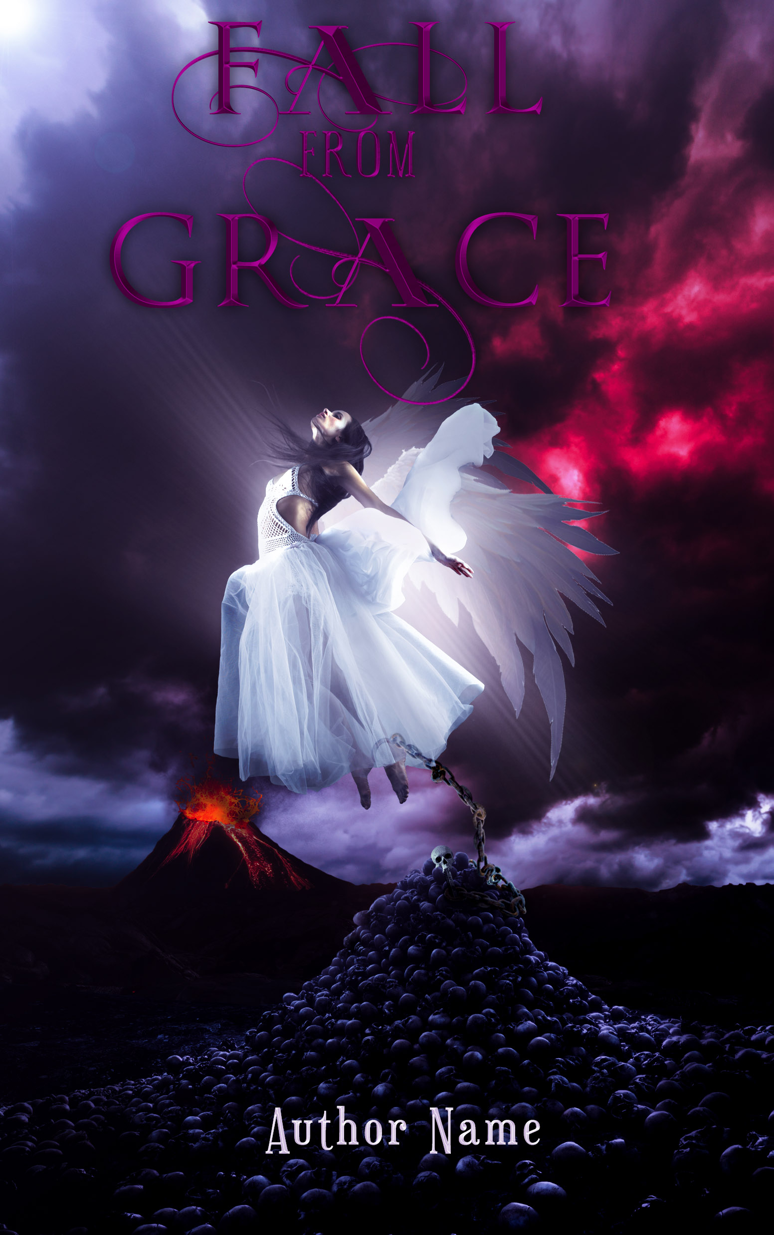 Fall From Grace Pre-Designed Book Co