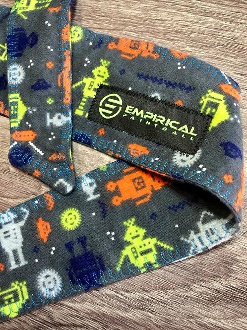 Empirical Paintball - 8-bit Robot Soft Headband - Blue Stitching Main