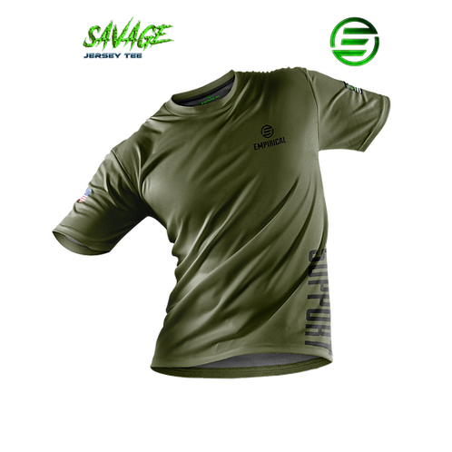 Support Veterans - Savage Jersey Tee