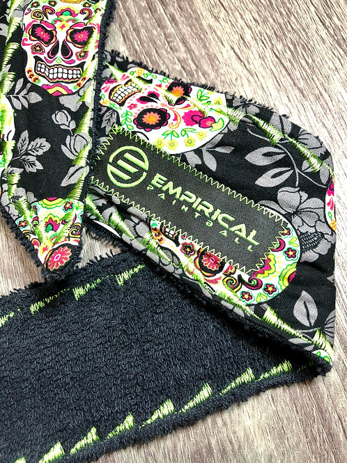Sugar Skulls Legend Headband - Green Stitching