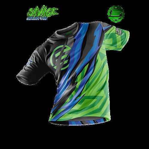 Electric Lime - Savage Jersey Tee