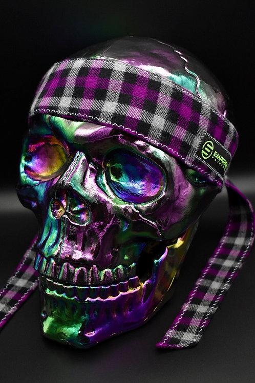 Purple Plaiditude - Headband