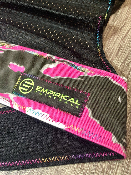 Pink Tiger Stripe Headwrap - 🍭 Candy Stitching