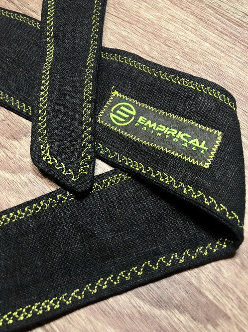 Empirical Paintball - Blacked Out Headband - Green Stitching Main