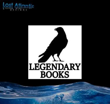 LAD Logo Design - Legendary Books