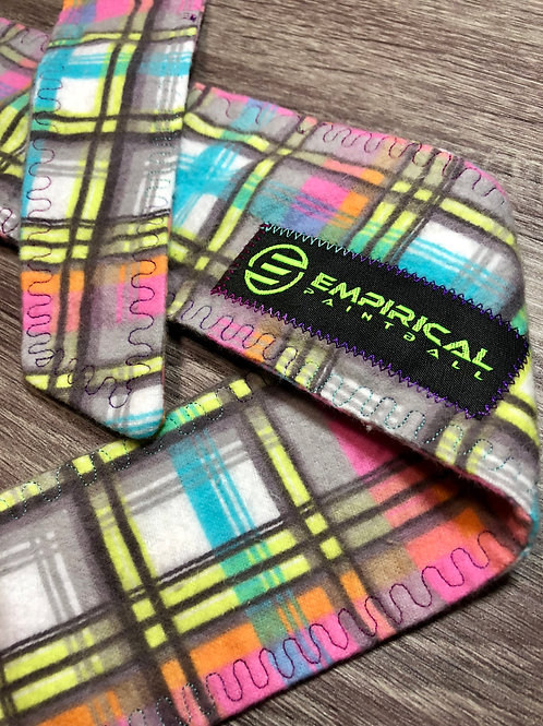Empirical Paintball - Bright Plaid Ice Headband - Cold Stitching Main