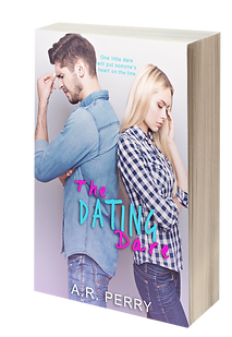 The Dating Dare - 3D Cover to Background