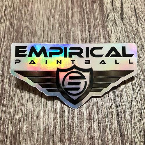 Empirical Shield Sticker - HOLO