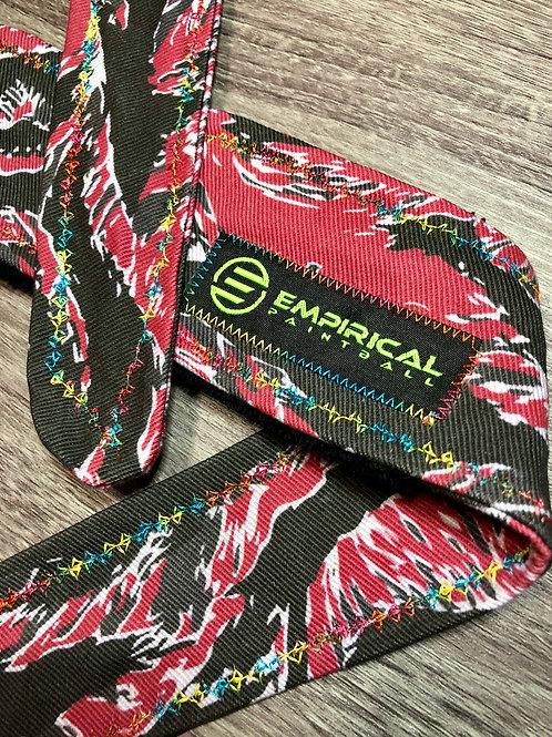Empirical Paintball - Red Tiger Stripe Headband - 🍭 Candy Stitching - Main