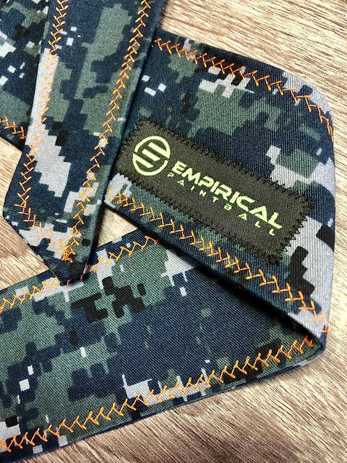 Empirical Paintball - Digi Camo Headband - Orange Stitching Main