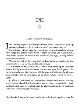 Ebook Format Desgn - Chapter Page