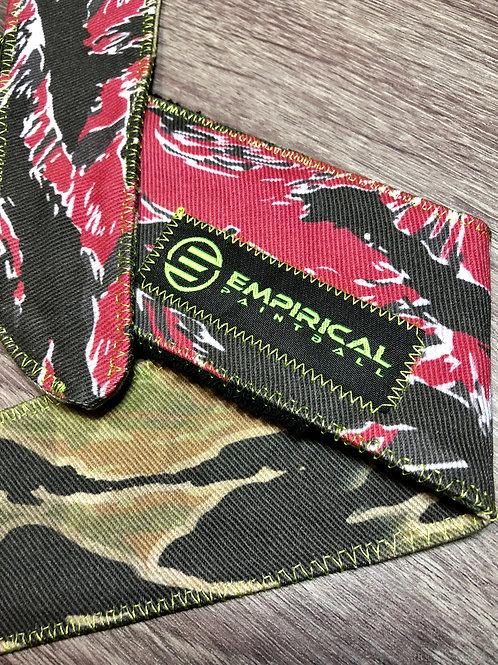 Empirical Paintball - Vietnamese & Red Tiger Stripe Headband - Green Stitching - Main