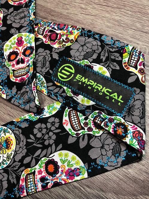 Empirical Paintball - Sugar Skull Lightweight Headband - Blue Stitching Main