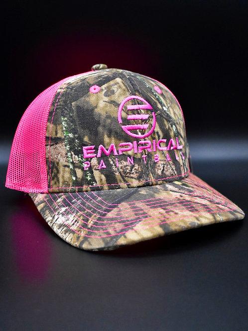 Mossy Oak Infinity Cap - Neon Pink