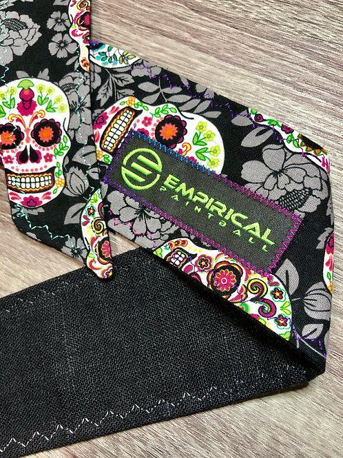 Sugar Skull Headband - Cold and Gray Stitching