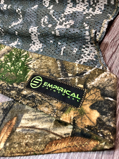 RealTree Soft Headwrap - Gold Flake Stitching