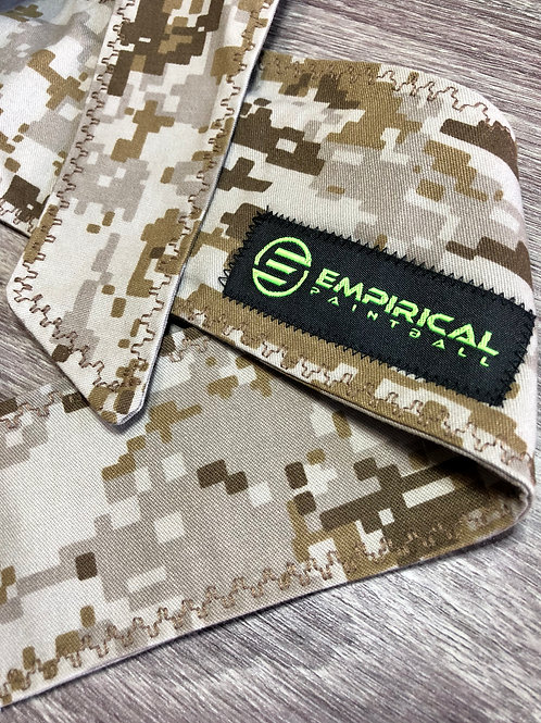 Empirical Paintball - Desert Digi Headband w/ Patch - Extra Wide Main